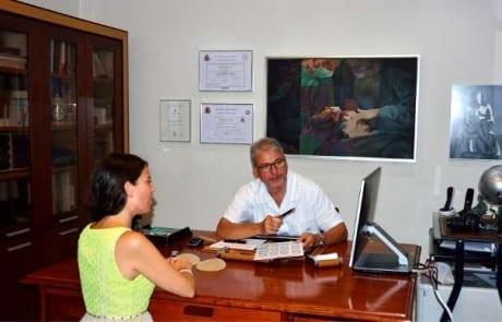 Despacho cirujano plastico Dr. Terrén en Valencia