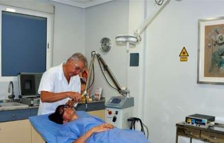 Sala tratamientos medicina estetica clinica estetica Dr Terrén