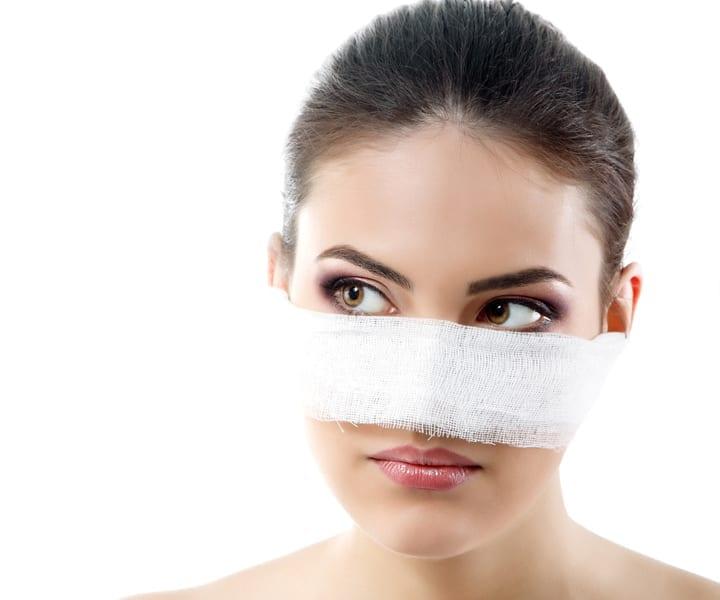 Cirugia de la nariz o rinoplastia