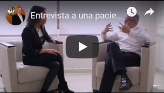 Entrevista a una paciente del Dr.Julio Terrén